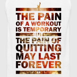 The Pain of Quitting  V1 - Männer Premium Tank Top