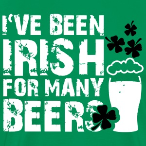 I've been irish for many beers T-Shirts - Männer Premium T-Shirt