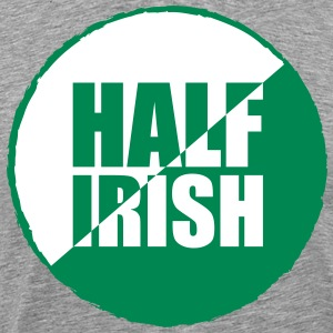 Half irish T-shirts - Mannen Premium T-shirt