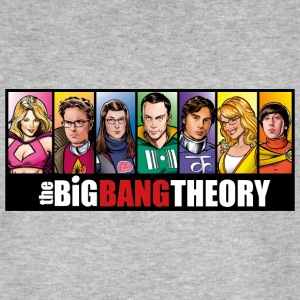 The Big Bang Theory Comic Homme Tee Shirt - T-shirt bio Homme
