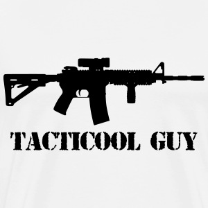 ar 15 tacticool guy  - Men's Premium T-Shirt