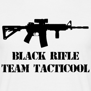 black rifle tacticool T-shirts - Mannen T-shirt