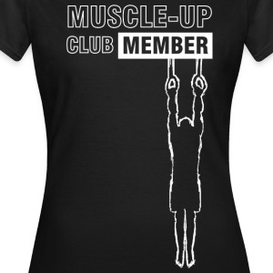White muscle-up club T-Shirts - Women's T-Shirt