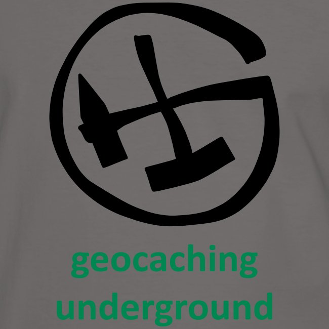 geocaching underground mining zweifarbig