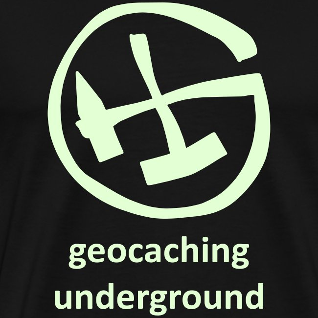 geocaching underground mining glow in the dark