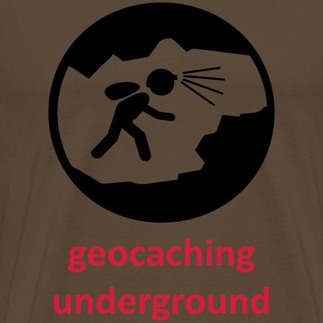 geocaching underground zweifarbig