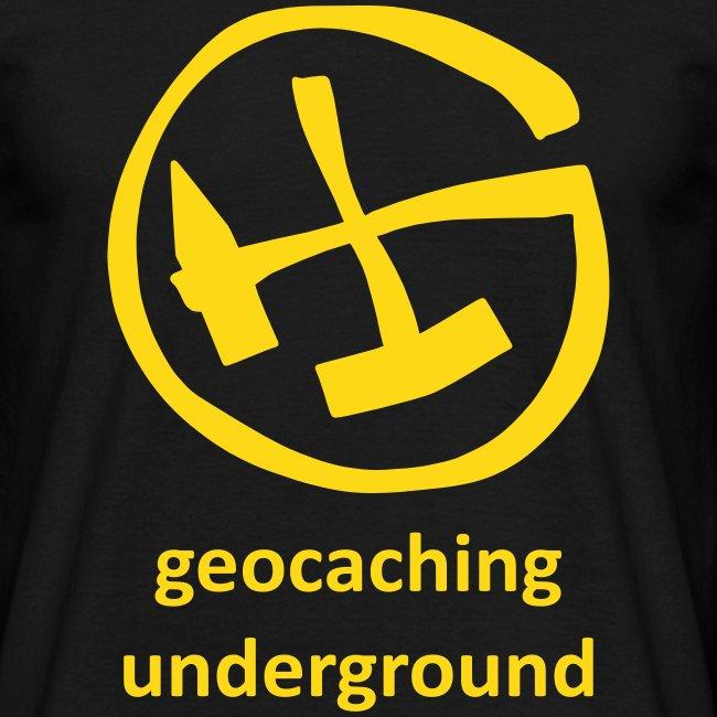geocaching underground mining schwarzgelb