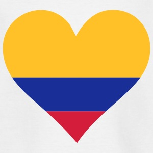 A Heart for Colombia Shirts - Teenage T-shirt