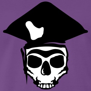 Death head skull pirate T-Shirts - Men's Premium T-Shirt