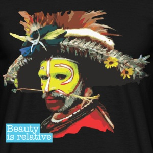 BEAUTY IS RELATIVE SERIES - 6 - T-shirt Homme