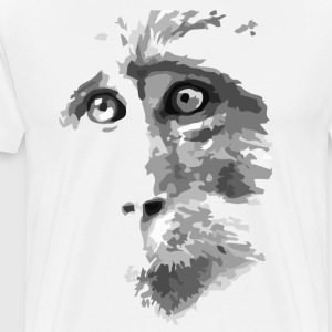 Monkey face T-Shirts - Men's Premium T-Shirt