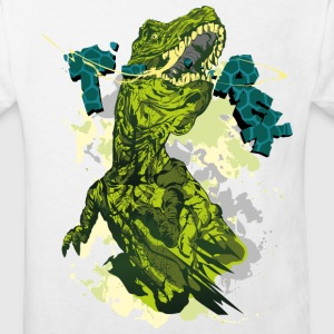 Animal Planet T-shirt barn Tyrannosaurus rex - Ekologisk T-shirt barn