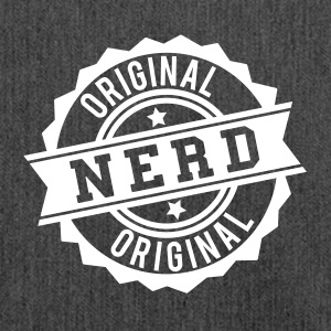 Nerd original stamp Bags & Backpacks - Shoulder Bag made from recycled material