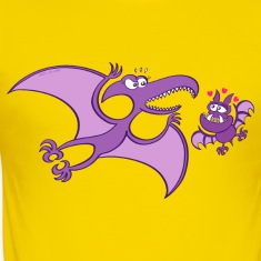 Bat Madly in Love with a Pterodactylus T-Shirts