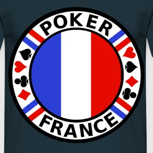 poker france Tee shirts - T-shirt Homme