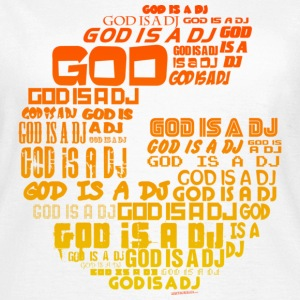 White God Is A DJ Women's T-Shirts - Women's T-Shirt