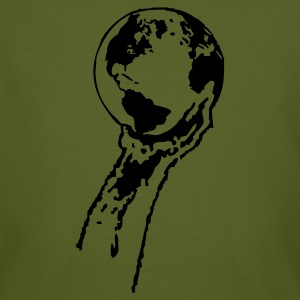 Mossgrön The earth is in our hands T-shirts - Men's Organic T-shirt