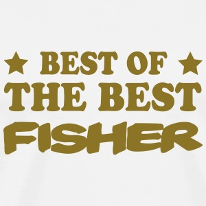 Best of the best fisher Camisetas - Camiseta premium hombre