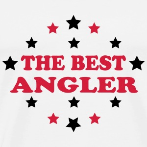 The best angler Tee shirts - T-shirt Premium Homme