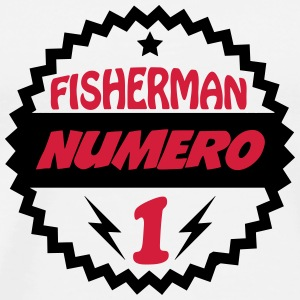 Fisherman numéri 1 T-Shirts - Men's Premium T-Shirt