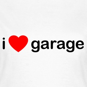 White I Love Garage DJ Women's T-Shirts - Women's T-Shirt
