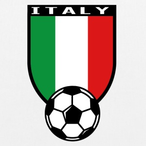 Italy football fan shirt 2016 Bags & Backpacks - EarthPositive Tote Bag