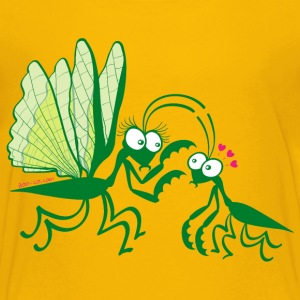 Praying mantises dangerously falling in love Shirts - Kids' Premium T-Shirt