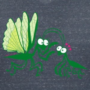 Praying mantises dangerously falling in love T-Shirts - Women's V-Neck T-Shirt