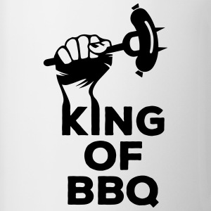 King of BBQ Grill grillen Grillmeister Wurst Mugs & Drinkware - Mug