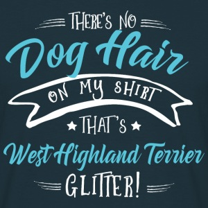 Glitter West Highland Terrier  T-Shirts - Men's T-Shirt