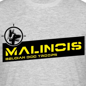 Malinois Dog Troops T-Shirts - Männer T-Shirt