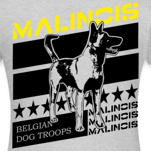 Malinois Dog Troops T-Shirts - Frauen T-Shirt