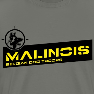 Malinois Dog Troops T-Shirts - Männer Premium T-Shirt