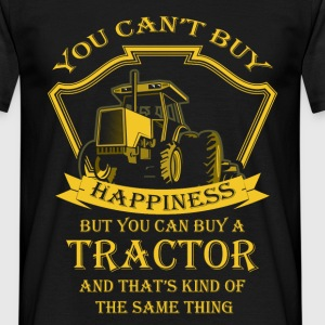 You Can't Buy Happiness, But You Can buy a tractor - Men's T-Shirt