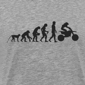 Evolution Motocross T-shirts - Herre premium T-shirt