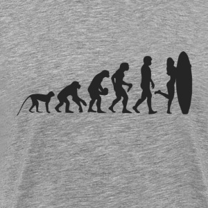 Evolution Surf T-shirts - Mannen Premium T-shirt