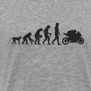 Evolution motorcycle T-Shirts - Men's Premium T-Shirt