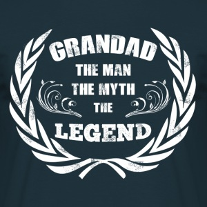 grandad the legend - Männer T-Shirt