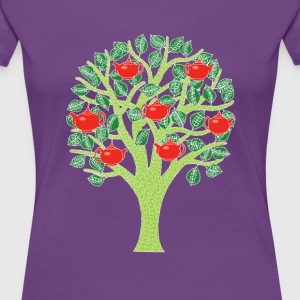Women's Premium 'Tea Tree' T-shirt - Women's Premium T-Shirt