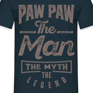 Paw Paw. The Man. The Myth. The Legend - Men's T-Shirt