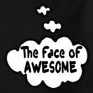 The face of awesome Shirts - Kids' T-Shirt