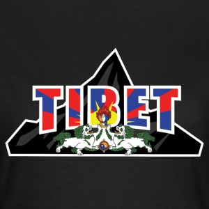 TIBET EVEREST FAHNE T-Shirts - Frauen T-Shirt