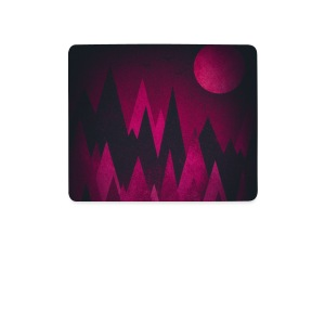 Dunkle Dreiecke / Abstrakte Berge - Phone Case Other - Mouse Pad (horizontal)