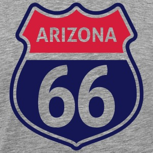 route 66 T-Shirts - Men's Premium T-Shirt
