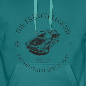 PEUGEOT 204 FRENCH CAR - Sweat-shirt à capuche Premium pour hommes