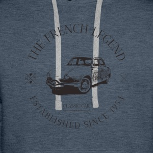 PANHARD Dyna Z FRENCH CAR Sweat-shirts - Sweat-shirt à capuche Premium pour hommes