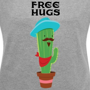 Free Hugs T-Shirts - Women's T-shirt with rolled up sleeves