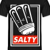Salty white - Men's T-Shirt