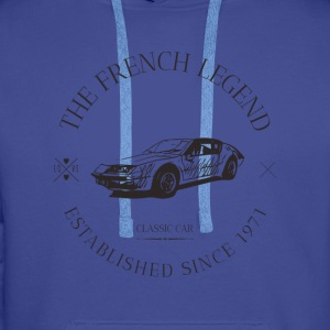RENAULT ALPINE A310 FRENCH CAR - Sweat-shirt à capuche Premium pour hommes