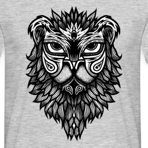 Lion face - T-shirt Homme